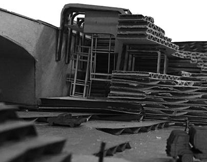 D6 | Sculpting the East Falls Train Station