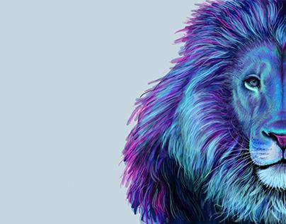 PHOTOSHOP LION