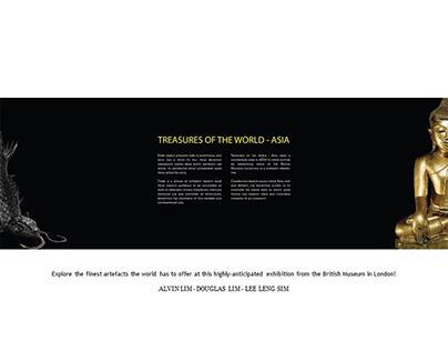 Exhibition Design: Treasures of the World - Asia