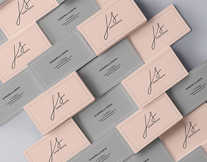Business Card with Monogram