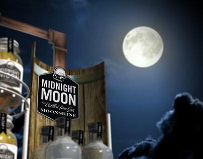 Midnight Moon Floor Stand
