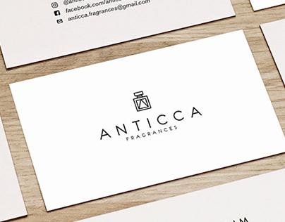 Anticca Fragrances (Branding)