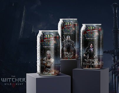 The Witcher x Monster Energy