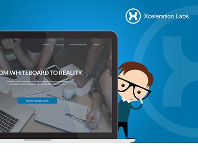 Xceleration Labs website