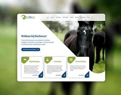 HorSense Website Redesign