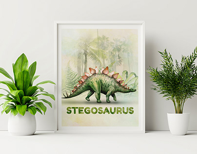 dinosaure project -ETSY-