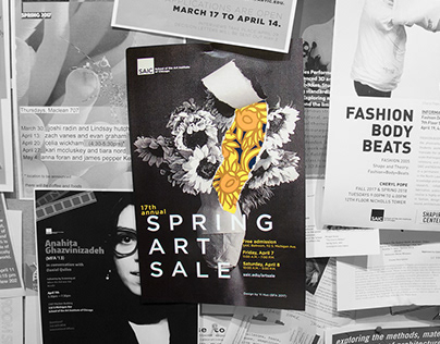 Event Branding | Spring Art Sale