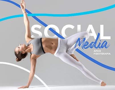 Social Media / Ápice Fisioterapia