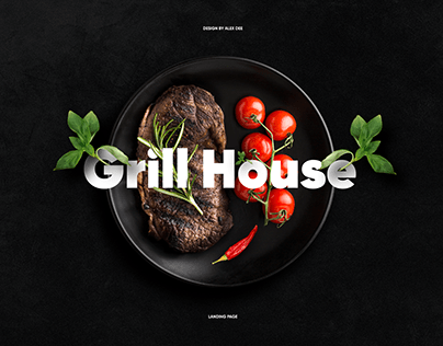 Grill House - Landing Page
