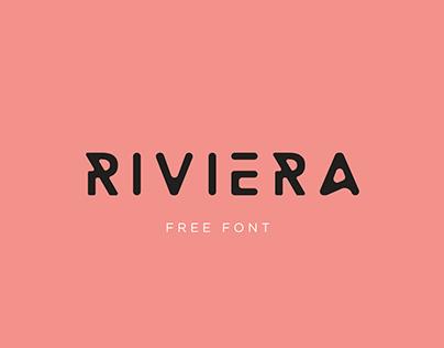 Riviera, free font