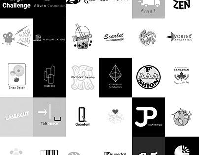 Logofolio for 30 Days Logo Challenge by LogoCore