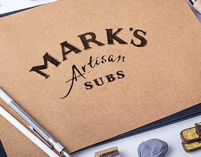 Logo Design Concept: Mark's Artisan Subs