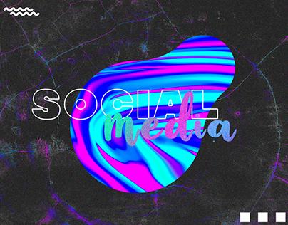 Social media posts banner design