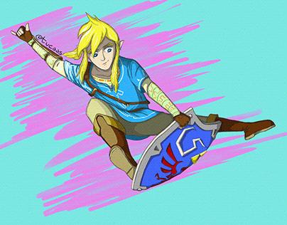 The Legend of Zelda's Pro Skater