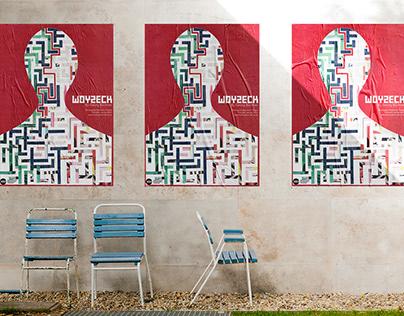 Woyzeck - Birmingham Rep Theatre Poster