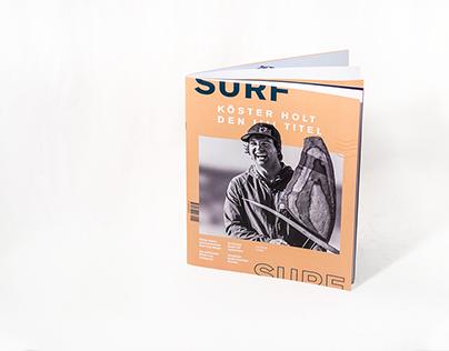 SURF Magazin - Editorial Design, Redesign