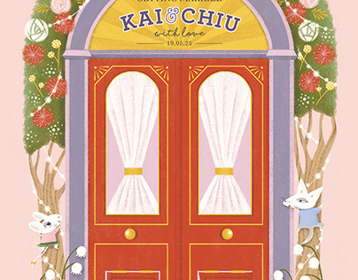 KAI & CHIU Wedding Card