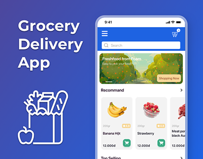 Grocery Delivery App - Order Process