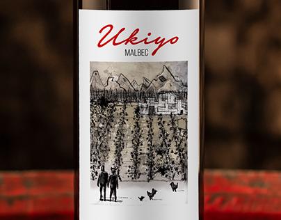 UKIYO. Wine Label. Argentina