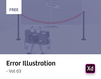 Error Illustrations - Vol 03