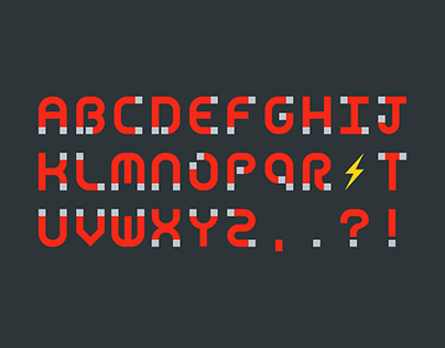 Magnets – Typeface Design