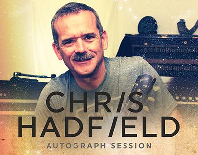 Chris Hadfield Autograph Session