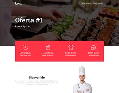 Diseño web - Restaurante 2