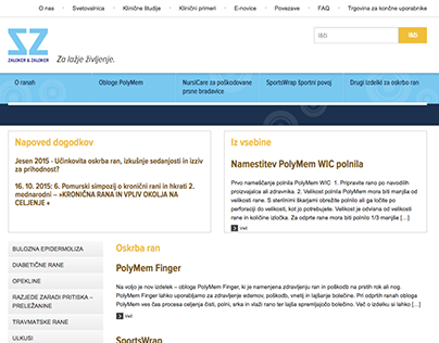 Rane.si website