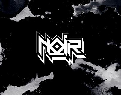 Noir // Logo for musician