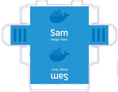 Docker Desk Name Tags