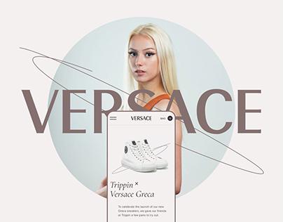 Versace — Redesign Concept