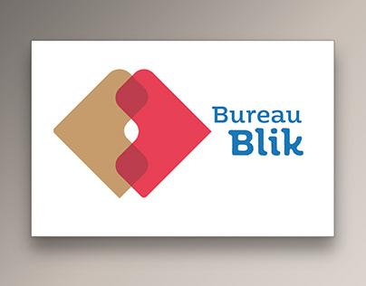 Logo & huisstijl Bureau BLIK