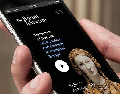 British Museum - iOS App Concept