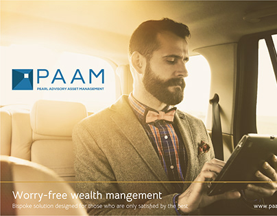 PAAM wealth management logo study
