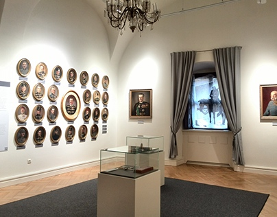 HUSZÁR exhibition / interior design 2015
