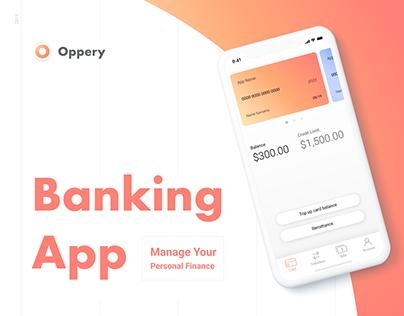 Oppery App | Mobile App Banking