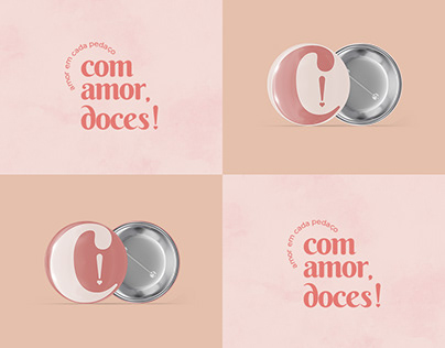 Com Amor, Doces! | Visual Identity