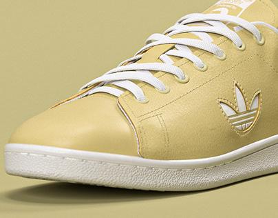 3D. Adidas sneaker.