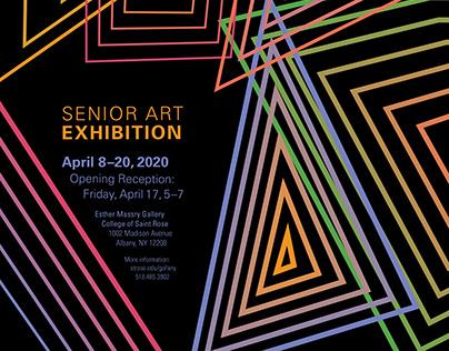 Poster Design: Senior Exhibition