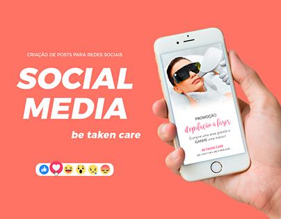 Be Taken Care   Social Media