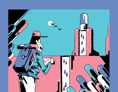 Voyage au bout de l'Advil for Hobbies magazine