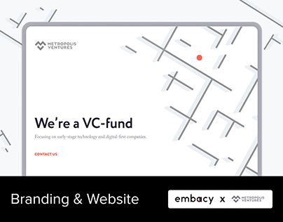 Metropolis Ventures. Branding & Website