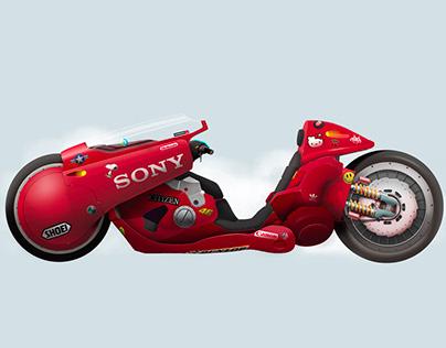 Kaneda´s bike. Akira
