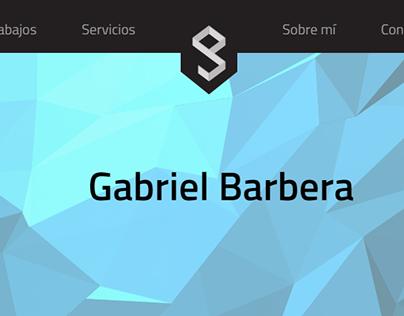 Gabriel Barbera - Diseño Gráfico y Web