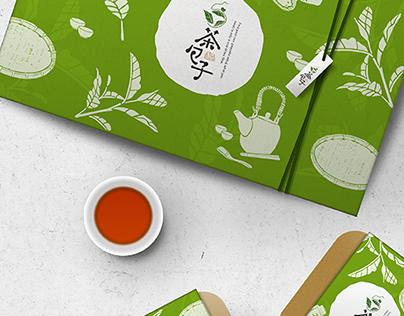 捨茶外-茶包子禮盒設計