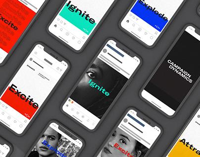 DYNAMICS - Branding & Art Direction / Concept Identity
