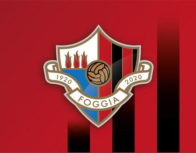 Proposta logo ufficiale Centenario Calcio Foggia 1920