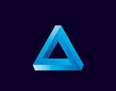 Optical illusion Penrose (impossible) Triangle