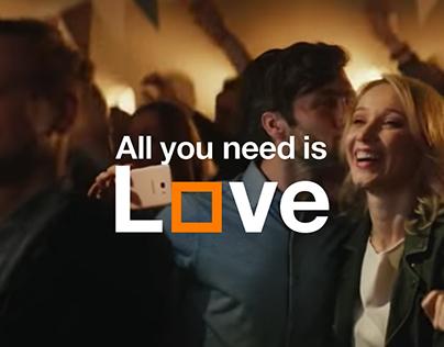 ORANGE LOVE - tv campaign Orange Poland