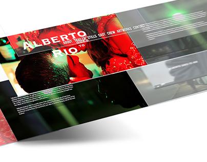 "Website for ""Alberto Goes to Rio"" movie"